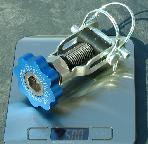 Line Clamp for Vacuum Resin Infusion