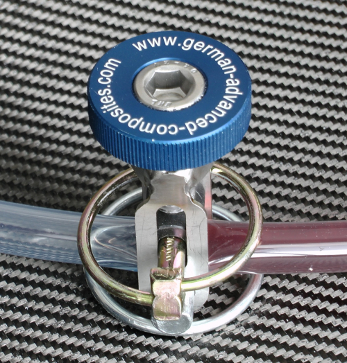 Line Clamp SQ60 for Vacuum Resin Infusion for hose diameter up to 0.6""